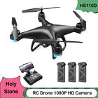 Holy Stone HS110D FPV RC Drone with 1080P HD Camera WiFi Quadcopter 3D Flip RTF