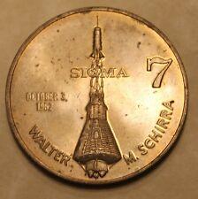 Project Mercury Sigma 7 Walter M Schirra Medal