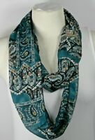 Infinity scarf, beautiful pattern, 11 different designs, chiffon, handmade