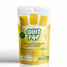 Quit Pop Lemon Flavored Quit Smoking Habit Replacement Pops 1 Pack-5 Pops