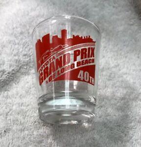 Vintage Toyota 40th Grand Prix Of Long Beach Shot Glass