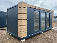 Bürocontainer Wohncontainer Gartenhaus Büro Gartenlaube Bungalow Tiny House -neu