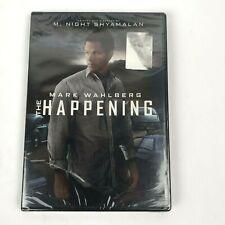 M. Night Shyamalan The Happening DVD, 2009  New Sealed Free Shipping