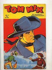 Original Tom Mix 1953 Nummer 11 (0-1/1) Top sehr guter Zustand Comicheft