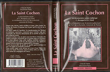 LA SAINT COCHON par BESSAGUET + GIARD + coffret/K7 audio = documentaire sonore