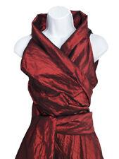 European Red Evening Dress