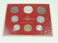 *** LIRE KMS VATIKAN 1972 BU Lira Coin Set Vaticano Kursmünzensatz vor Euro ***