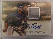 RICHIE SHAFFER 2013 BOWMAN INCEPTION JUMBO RELIC AUTO
