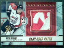 GRIFFIN REINHART 12/13 SUBWAY SUPER SERIES 2-COLOR SEAMED GAME-USED PATCH /5 SP