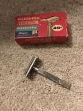 Vintage Gillette Tech Razor In Box