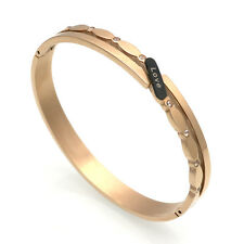 sale! Rose Gold Love Cuff Bracelet Bangle