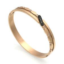 sale! Rose Gold Love Cuff Bracelet Bangle