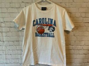 North Carolina Tar Heels Basketball Youth T Shirt Size XL
