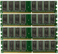 4GB (4x 1GB) Desktop Ram Memory for Gateway 838GM Media Center