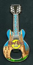 Hard Rock Cafe Barcelona Bottle Opener Guitar Magnet. Rare (B.O.*)