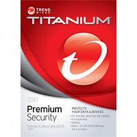 Trend Micro Titanium Premium Security 2013 Retail TRE021800F743