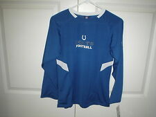 NFL INDIANAPOLIS COLTS Authentic Apparel Long Sleeve Jersey Youth M 10/12 NEW!