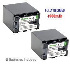 2x Kastar Battery for JVC BN-VG138 Everio GZ-E10 GZ-E100 GZ-E200 GZ-E300 GZ-E505