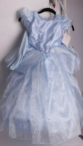 NWT Pottery Barn Kids Light Up Disney Cinderella costume 4-6 4t 5t