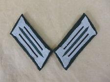 Wehrmacht Pionier M36 Uniform Kragenspiegel Feldbluse schwarze Paspellierung