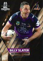 ✺Mint✺ 2017 MELBOURNE STORM NRL Premiers Card BILLY SLATER