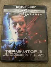 TERMINATOR 2 JUDGMENT DAY New Sealed 4K Ultra HD UHD + Blu-ray