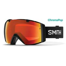 Smith I/O 2018 Goggles Black ChromaPop Everyday Red Mirror Asian Fit