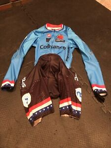 Thirsty Bear Cycling team Castelli Bodypaint Speedsuit Lg