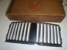 NOS Chrome Center Radiator Grille Piece 47 48 Kaiser Custom 1947 1948 # 203244