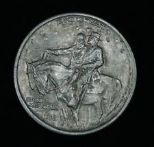 1925 Stone Mountain GA Commemorative Half Dollar 50C 90% Silver