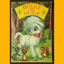 Collection Pirouettes BOULE DE NEIGE 1975