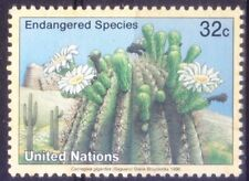 United Nations 1996 MNH, Endangered Species Plant Saguaro, tree-like cactus