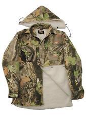 StormKloth Camuflaje Polar de Leñador Forro Piel Capucha Camisa Trabajo/Jacket