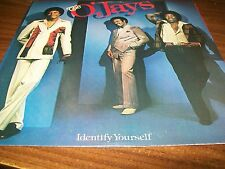 The O'Jays-Identify Yourself-LP-OG Sleeve-Promo-Vinyl Record-VG+