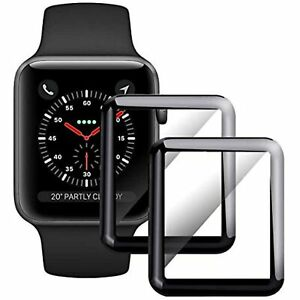 For Iwatch Screen Protector 44Mm,[2 - Pack] Tempered Glass Full Covera