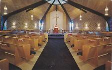 DALLAS, Texas, 40-60s ; Interior, Walnut Hill Lutheran Church, LCA