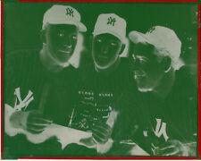 mickey mantle,yogi berra,ed lopat 8x10 negative new york yankees