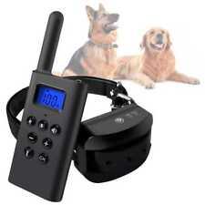 Collar de Adiestramiento para Perros con Bateria Estimulacion Vibracion LED L168