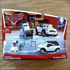 Disney PIXAR Cars JESSICA GIAMPETROL & NATE STANCHION 2014 MEL DORADO SHOW 7&8/8