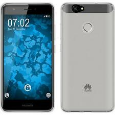 Silikon Hülle für Huawei Nova Crystal Clear transparent + 2 Schutzfolien