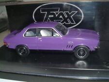 1/43 TRAX 1970 HOLDEN LC TORANA GTR XU-1 IN PLUM DINGER, AUSTRALIA TG