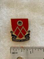 Authentic US Army 53rd Field Artillery Battalion DI DUI Crest Insignia 9M