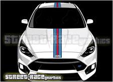 Ford Martini OTT001 racing stripes vinyl graphics stickers Fiesta Ka Focus