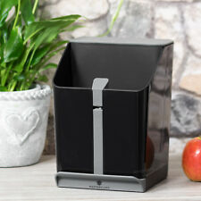4 en 1 universal soporte de bloque de almacenamiento de información Utensilio Cuchillo de Cocina Cuchara Resto Afilador