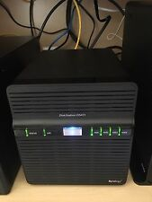 Synology DS411 NAS Gigabit DSM 4x2TB Hard drives included - Mint Condition