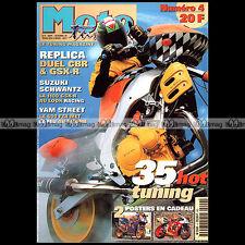 MOTO TUNING N°4-b SUZUKI GSXR 1100 YAMHA FZR 600 KAWASAKI ZZR YAMAHA V-MAX 1997