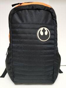 Black Squadron Rebel Symbol Star Wars Backpack Bioworld Brandnew with tags 20x13