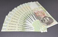 1x 100000 LIRE FDS Caravaggio 2 Tipo Lettera D 1997 Italy UNC banknote Pick 117d