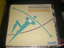 SINGLE THE UNDERTONES - IT'S GOING TO HAPPEN - ARDECK UK 1981 VG+