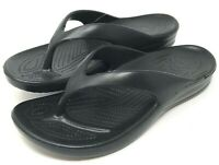 Dawgs Flip Flops Womens Size 8 Sandals Black New